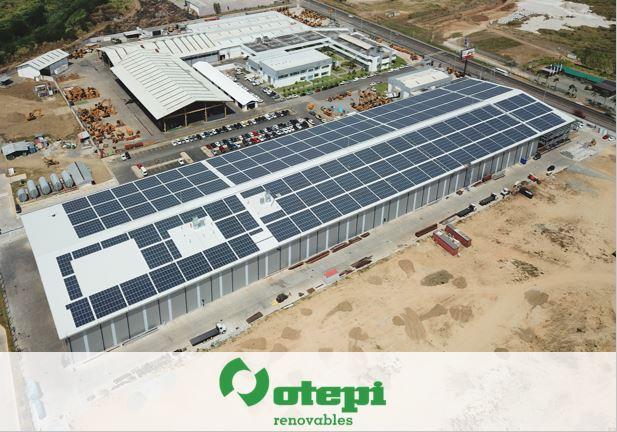 OTEPI culmina instalación fotovoltaica para Industrias Correagua