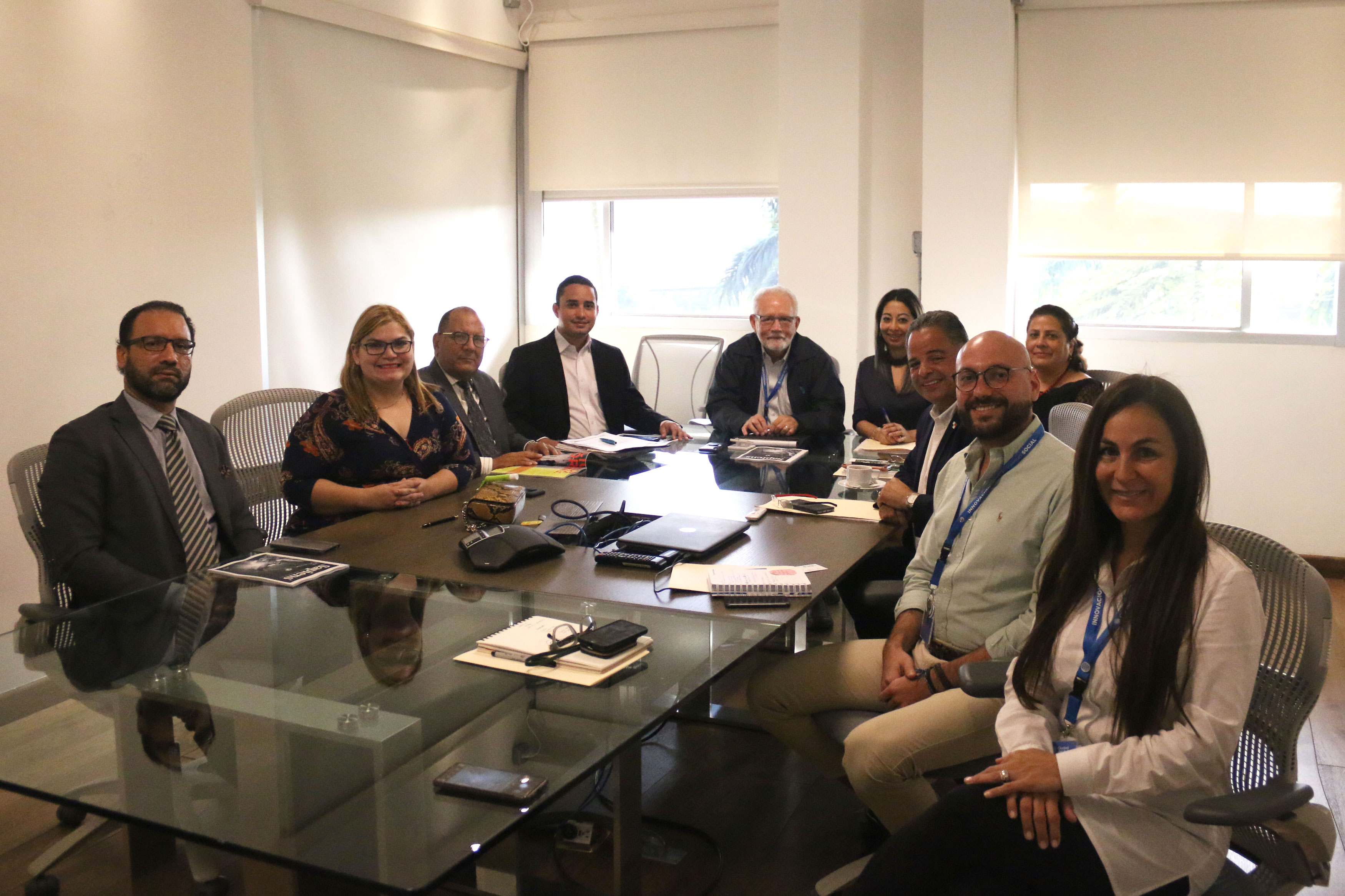 FCdS y CTDA sostienen reunión de intercambio
