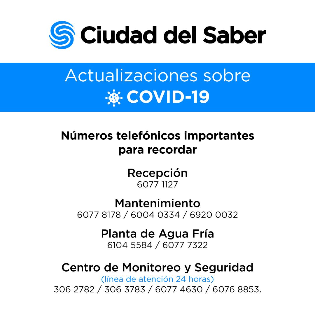Actualizaciones sobre COVID-19 (18 de marzo)