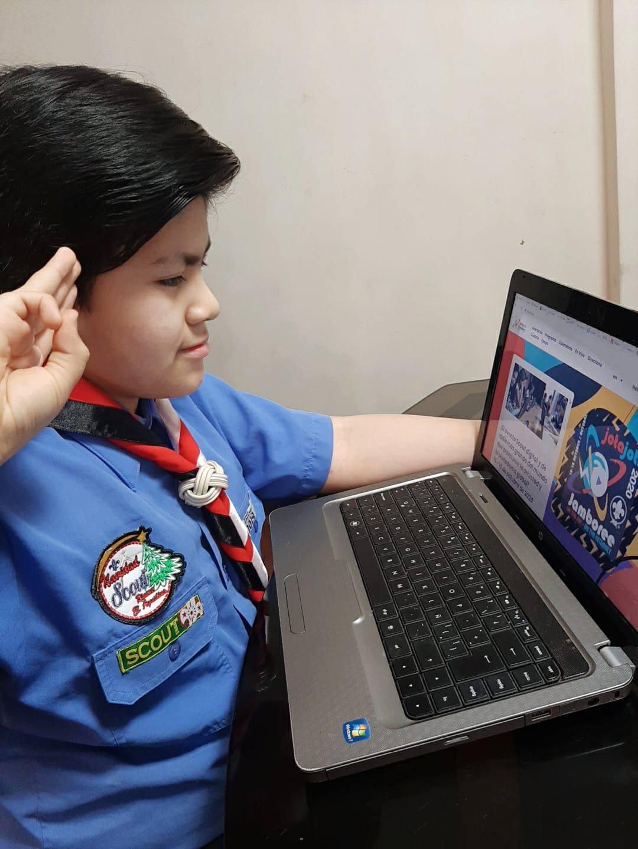 Scouts de Interamérica en el JOTA JOTI 2020