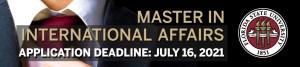 FSU Master in International Affairs